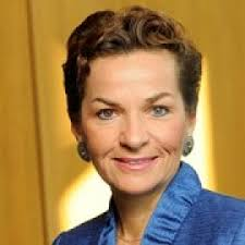 A photograph of Christiana Figueres