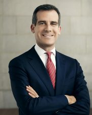 A photograph of Eric Garcetti