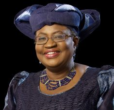 A photograph of Ngozi Okonjo-Iweala
