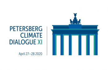 Petersberg climate dialogue (roman numerals) XI. April 27 to 28, 2020