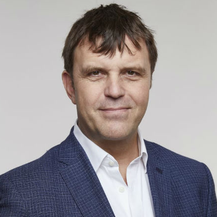 Photograph of COP26 team member Nigel Topping