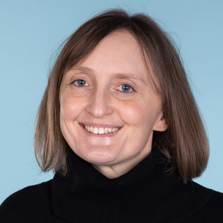 A photograph of COP26 team member Elinor Wakefield